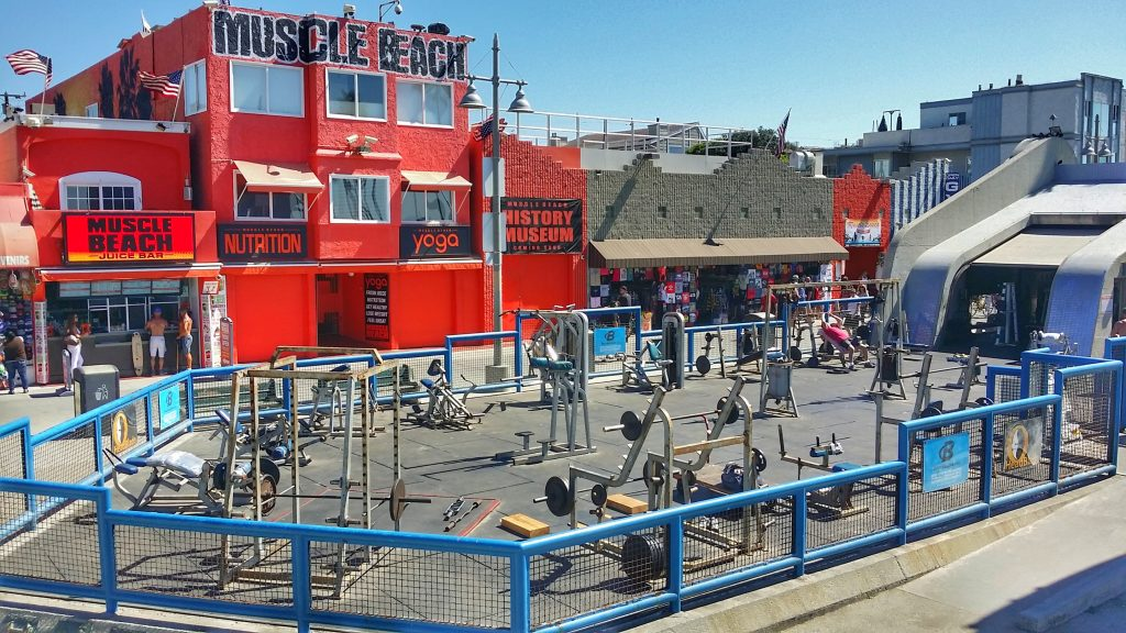 Los Angeles - Venice - Muscle Beach