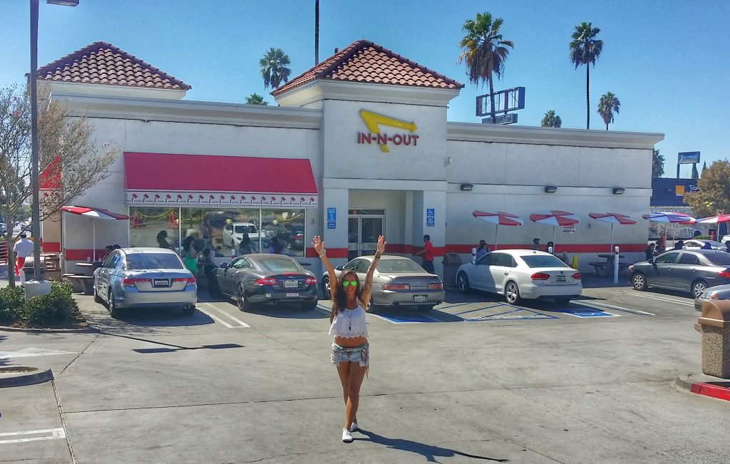 Los Angeles - In n Out Burger