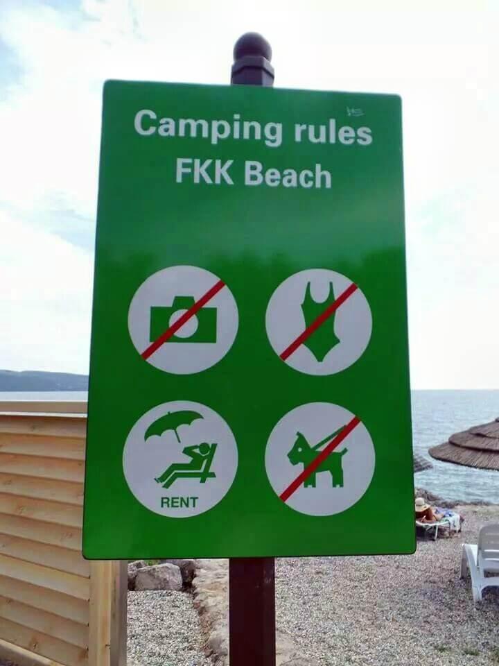 FKK Strand Kroatien Insel Krk