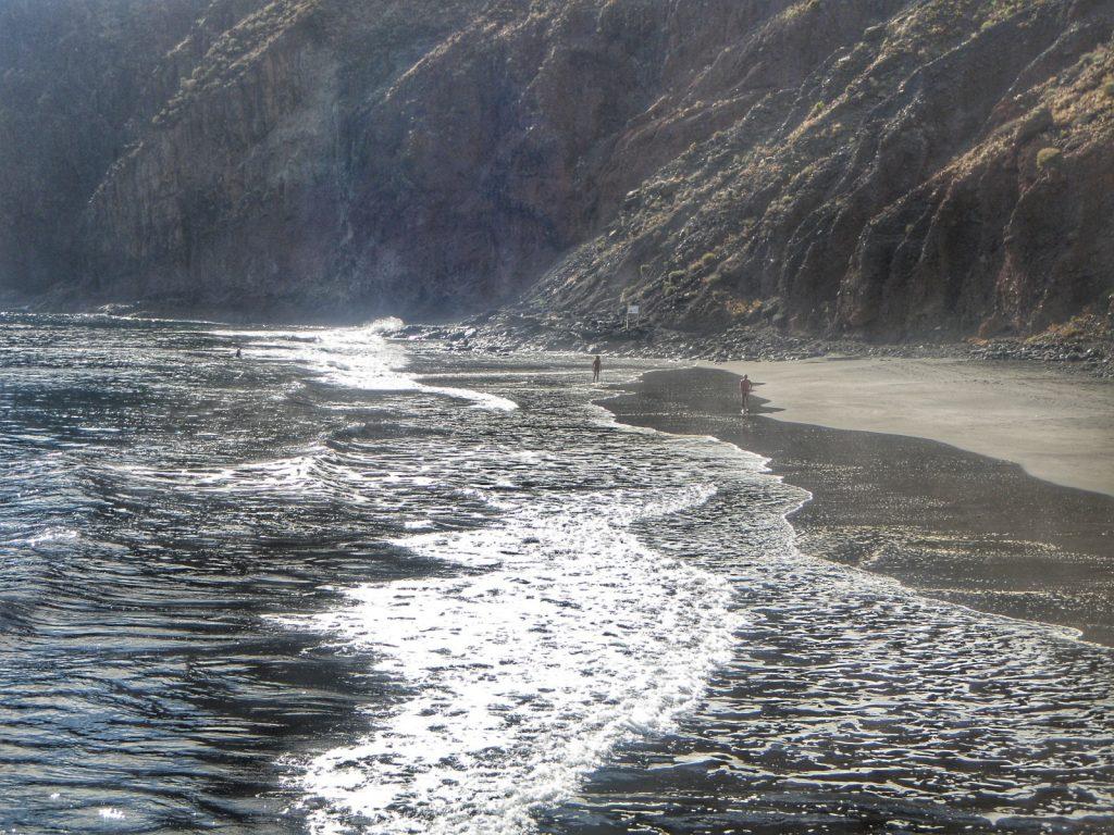 Schwarzer Strand Teneriffa