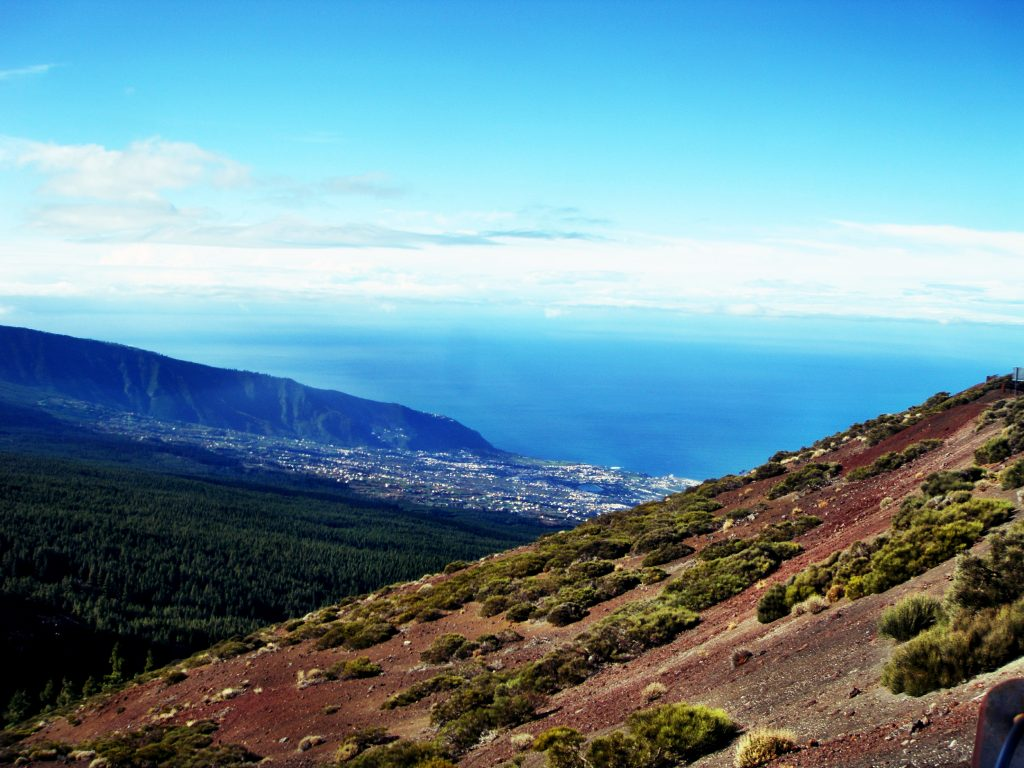 Teneriffa Berg Teide Aussicht