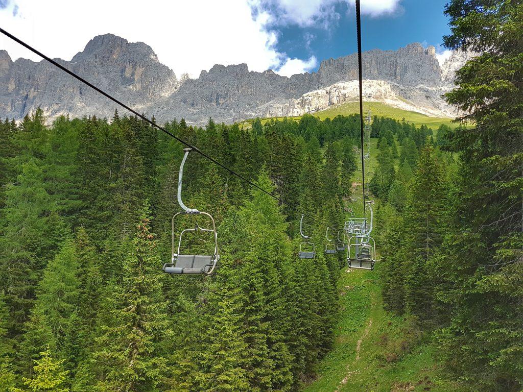 Südtirol - Sessellift