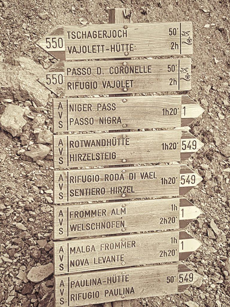 Südtirol - Wanderwege
