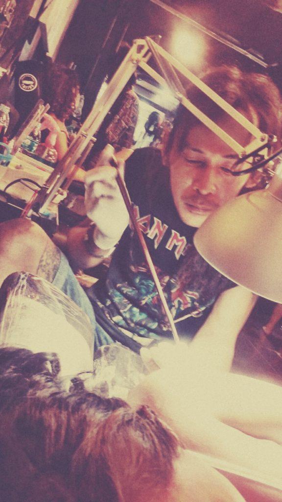 Thailand - Koh Phi Phi - Bambus Tattoo