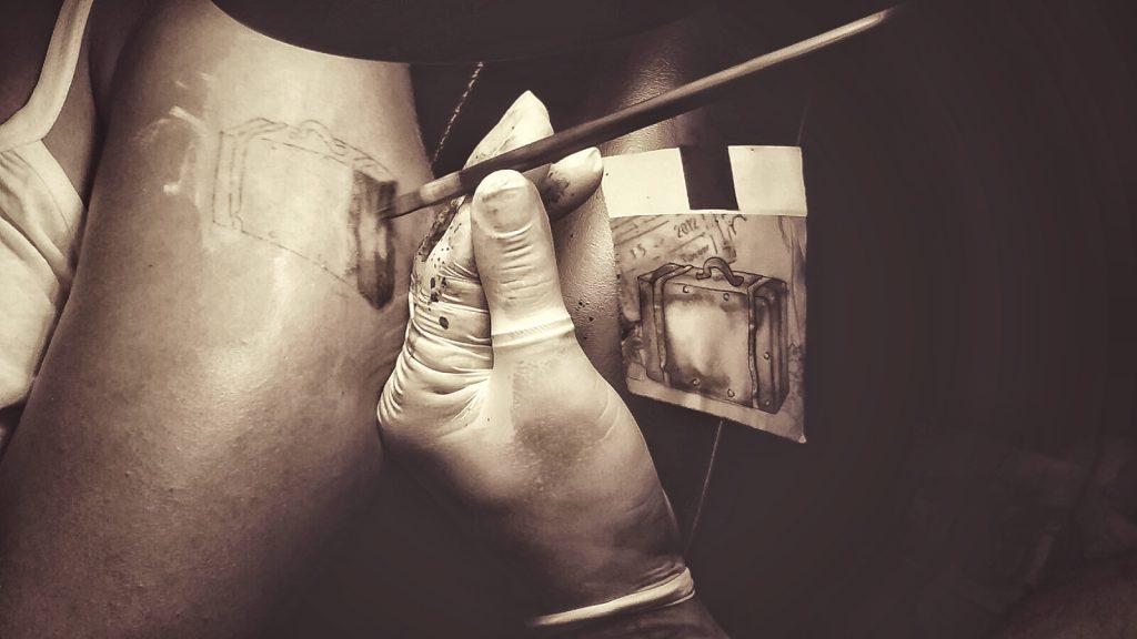 Thailand - Bambus Tattoo