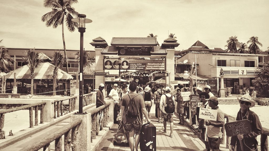Thailand - Koh Phi Phi Hafen