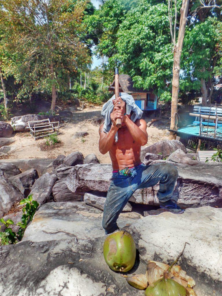 Thailand - Koh Phi Phi - Einheimischer