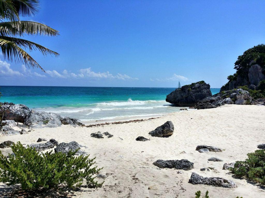 Mexiko Tulum Strand