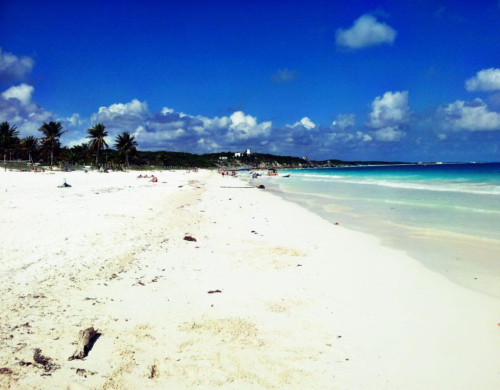 Strand-Tulum-Mexiko