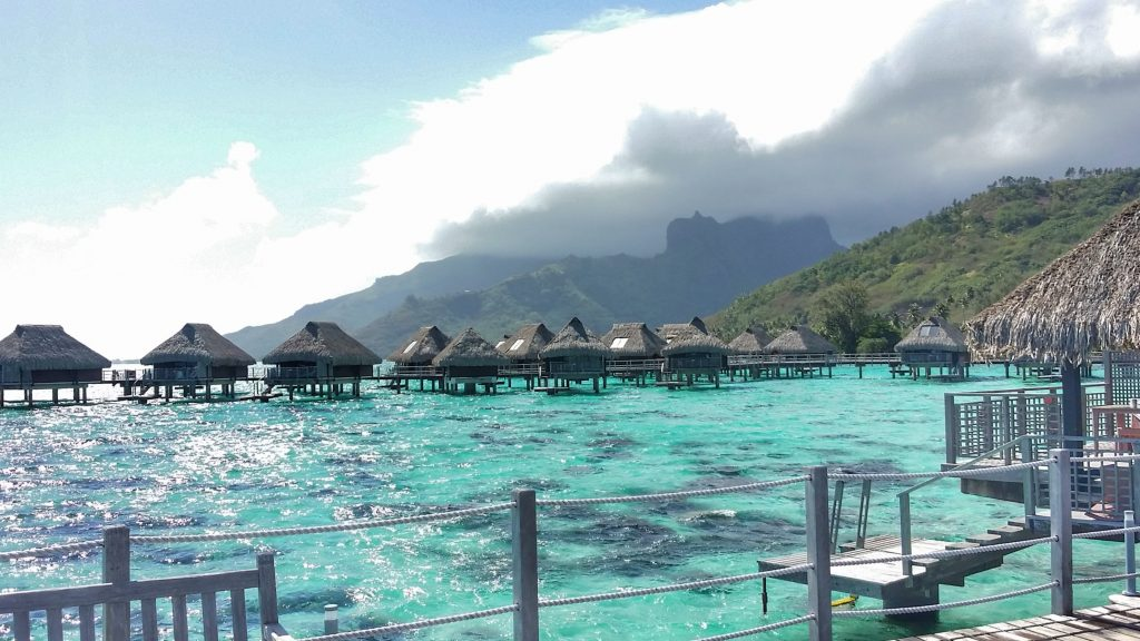 Moorea Hotel Hilton - Over waterbungalow