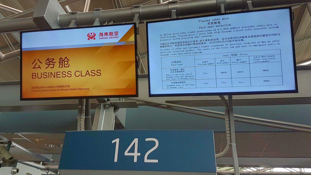 Hainan Airlines Business Class - Rewiev - Salty toes Reiseblog