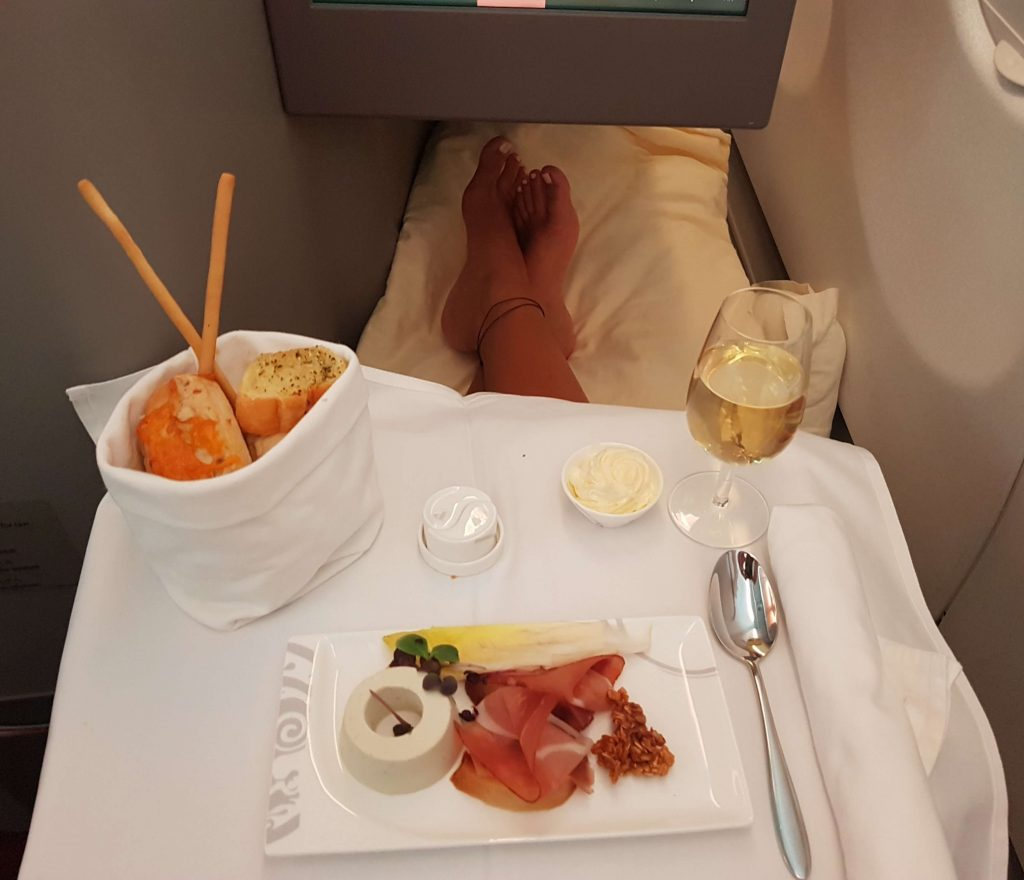 Hainan Airlines Business Class - Review - Salty toes Reiseblog