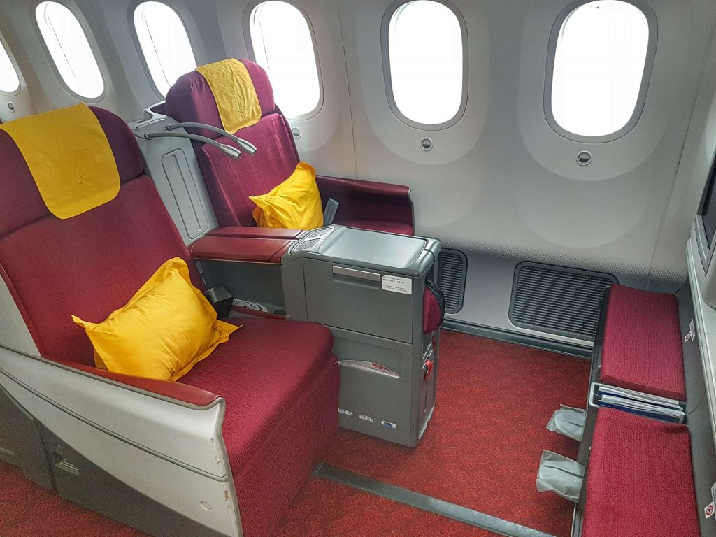 Dreamliner Hainan Airlines Business Class