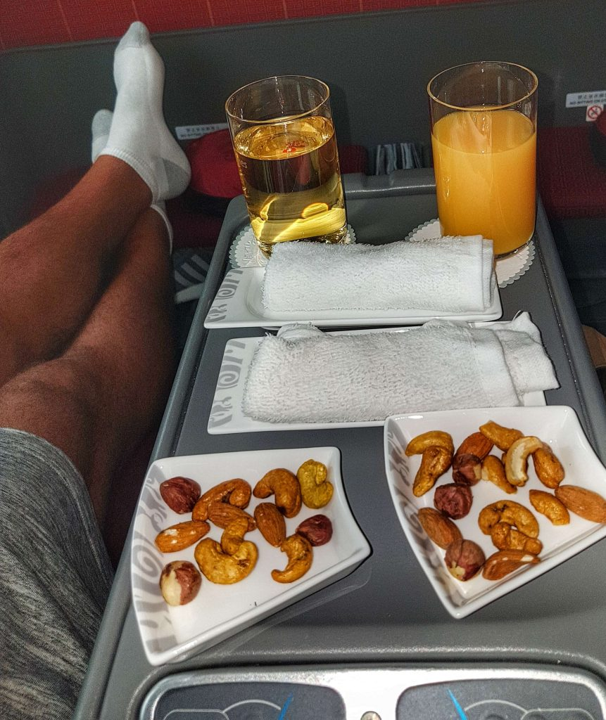 Dreamliner - Hainan Airlines Business Class - Review - Salty toes Reiseblog