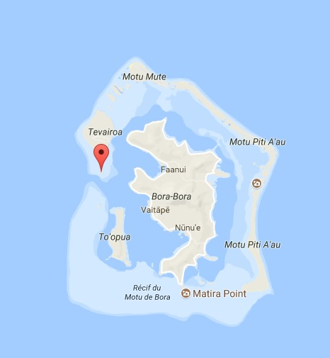 Motu Ahuna Bora Bora