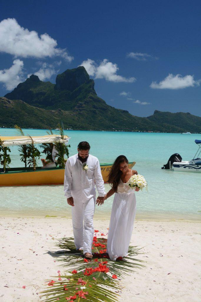 Strandhochzeit - Heiraten auf Bora Bora - Salty toes Reiseblog