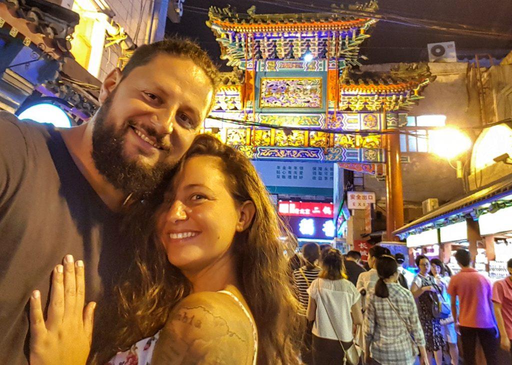 Peking Wangfujing Snack Street