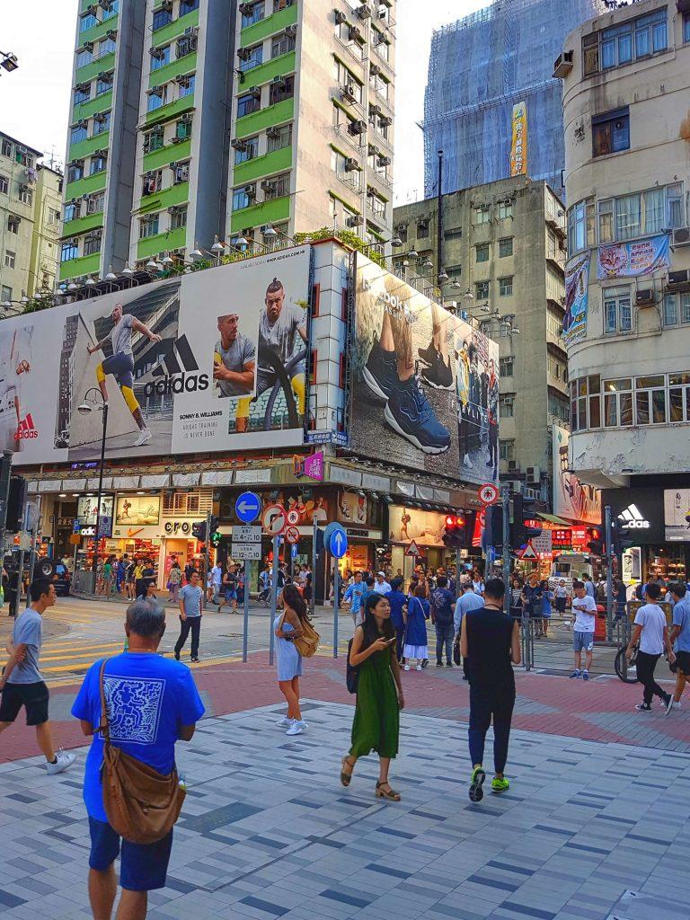 Hong Kong Sneekers Street