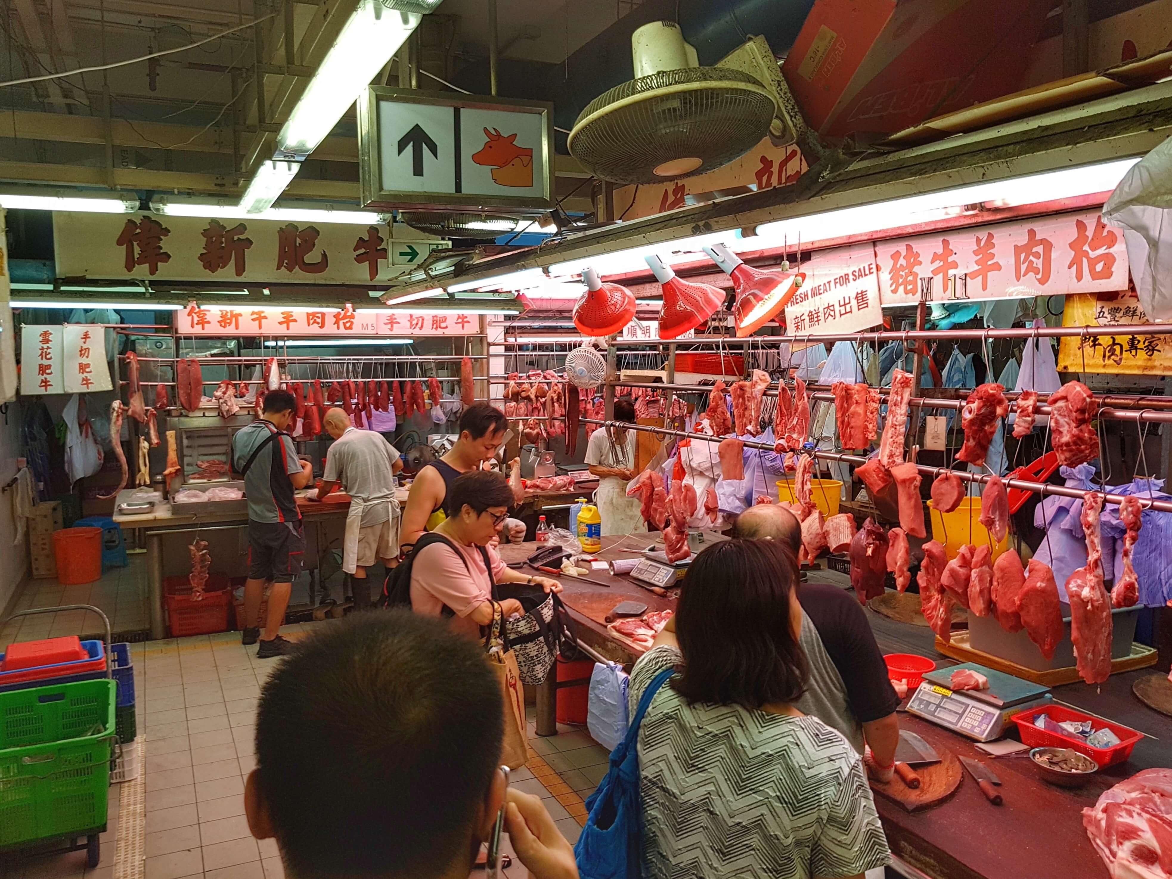 Hong Kong Markt