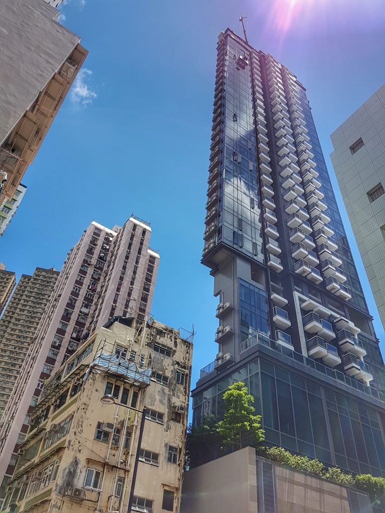 Hong Kong Hochhäuser - Salty toes Reiseblog