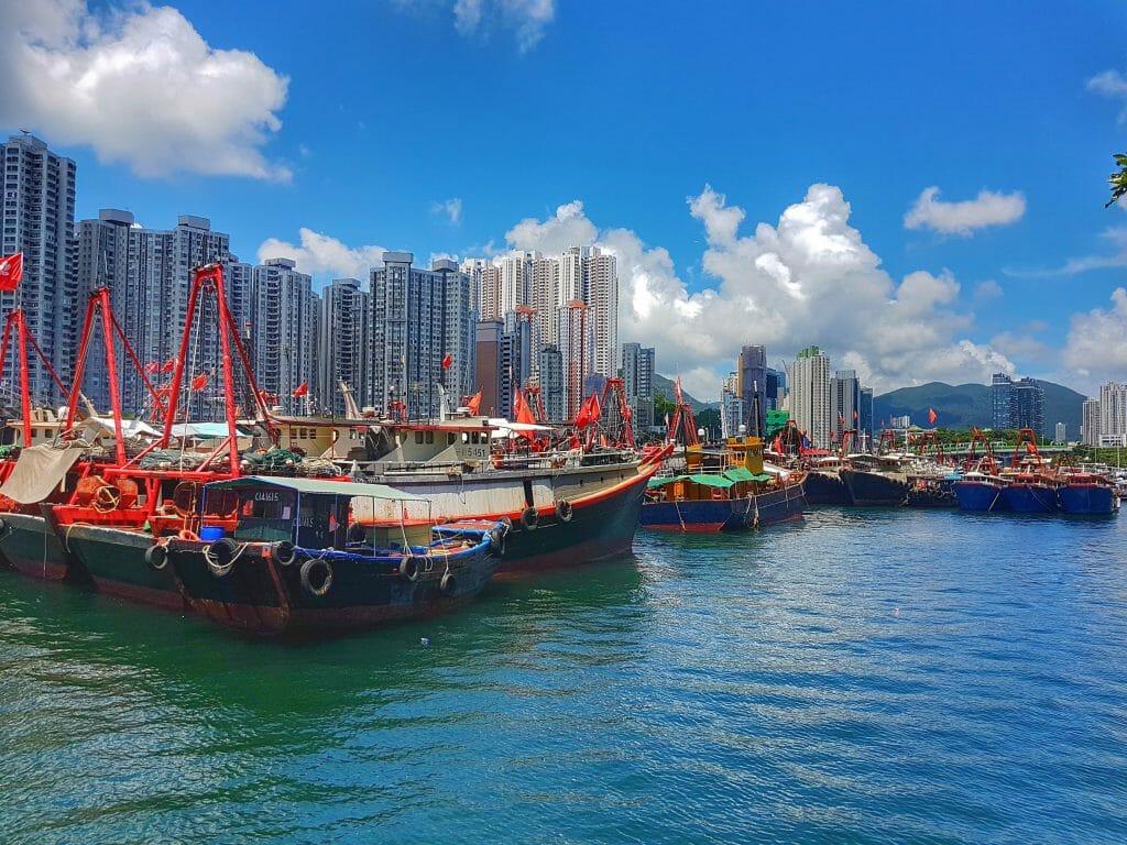 Hong Kong Hafen - Salty toes Reiseblog