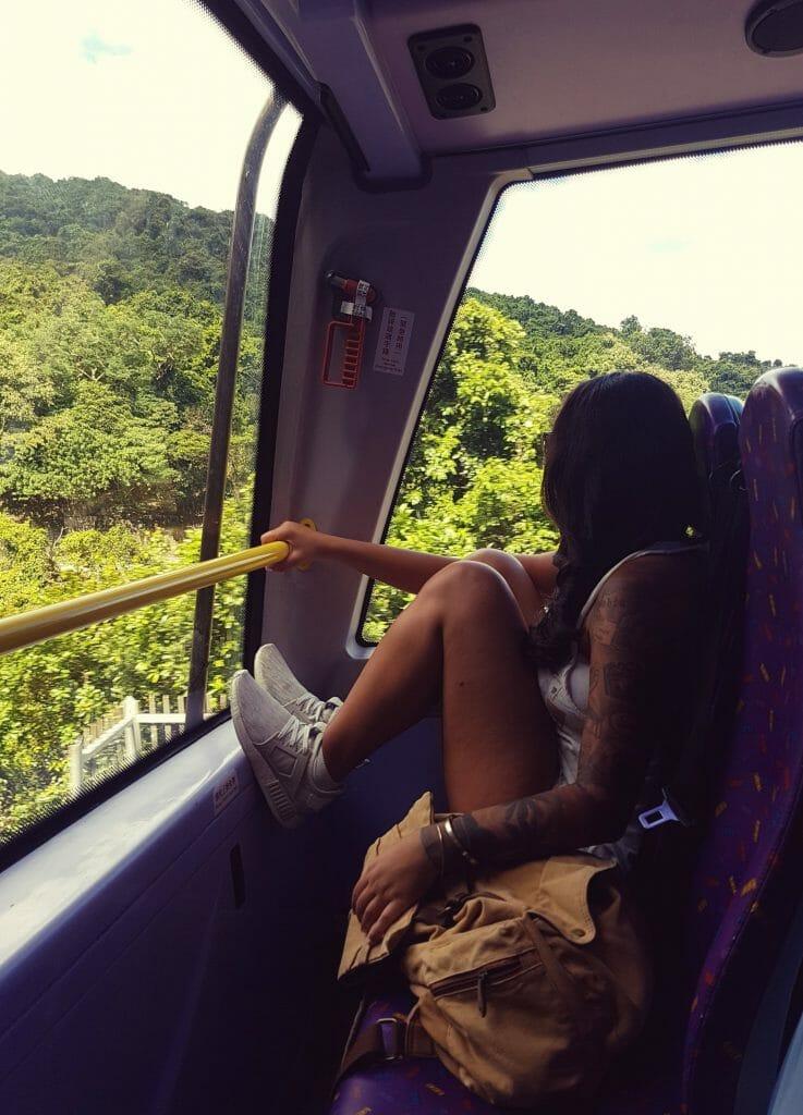 Hong Kong Bus - Salty toes Reiseblog