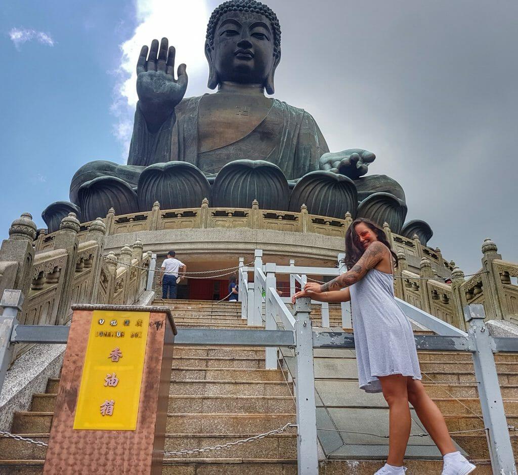 Hong Kong Big Buddha - Salty toes Reiseblog
