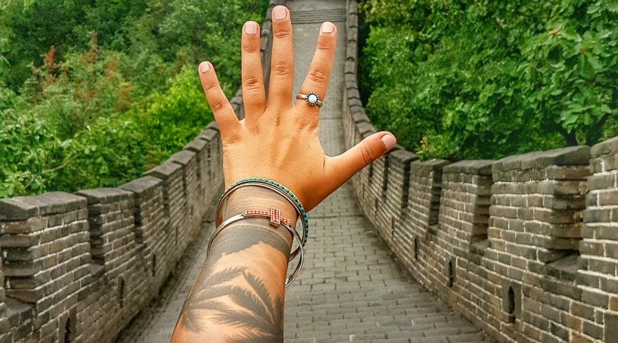 Peking Chinesische Mauer