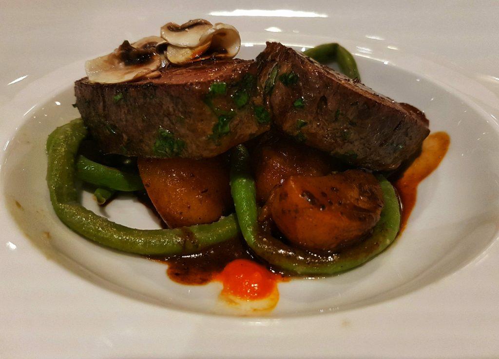 St. Martins Therme & Lodge Abendessen - Salty toes Reiseblog