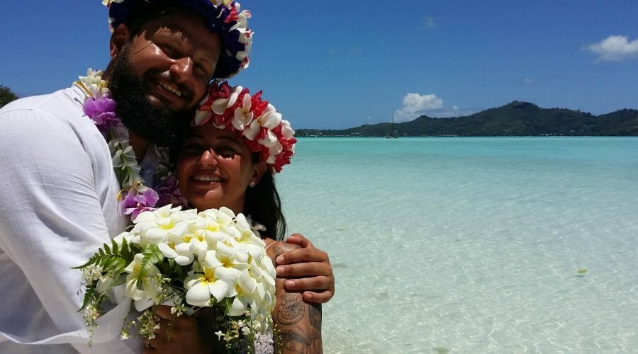 Strandhochzeit Bora Bora