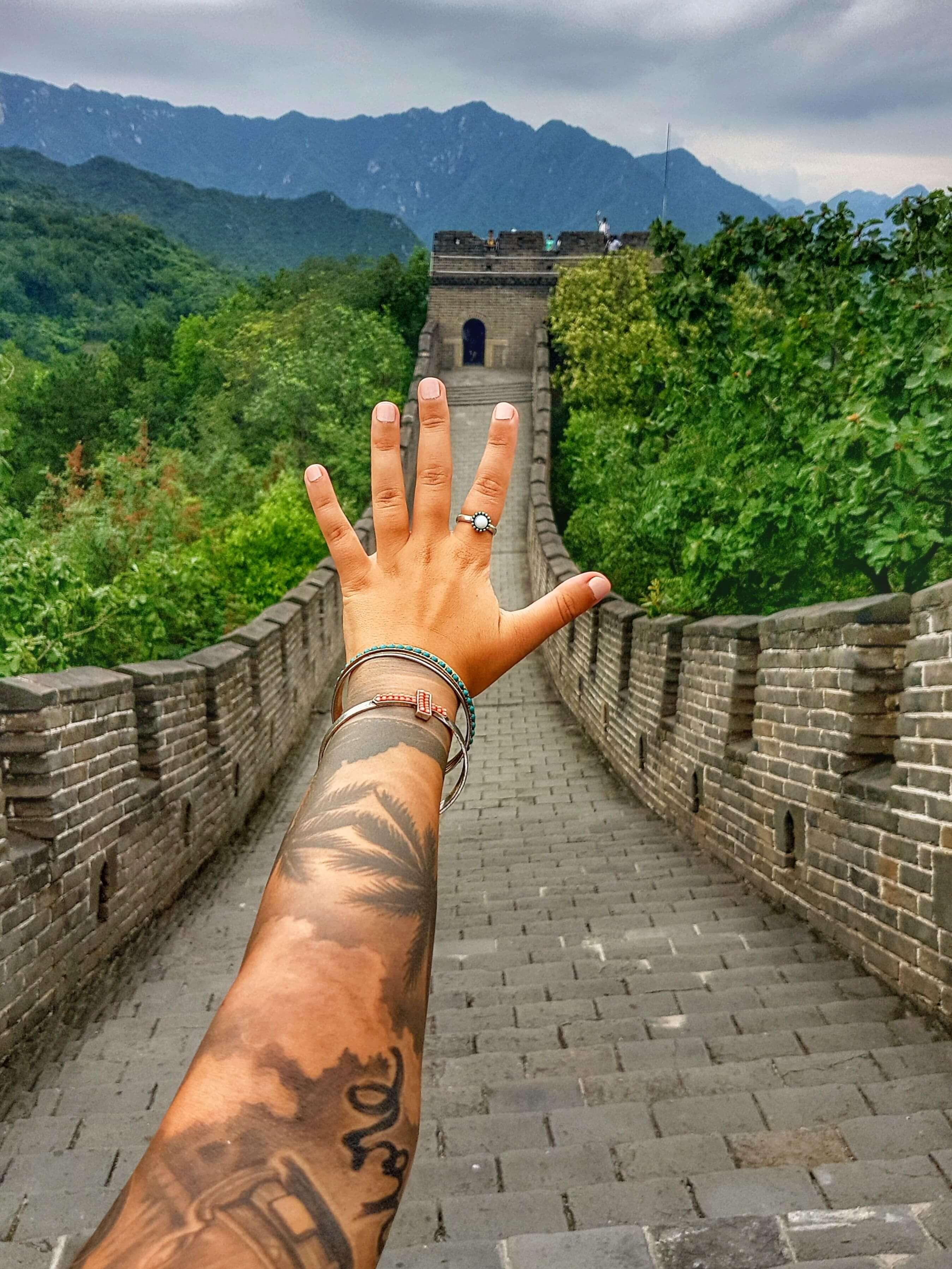 Chinesische Mauer - Fotoparade 02/17 - Salty toes Reiseblog