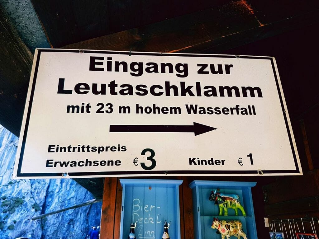 Leutaschklamm - Tirol & Bayern