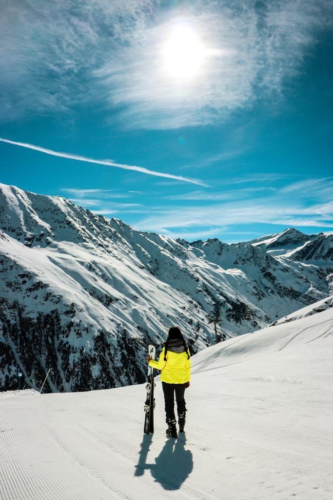 Die schönste SKI Piste in Tirol