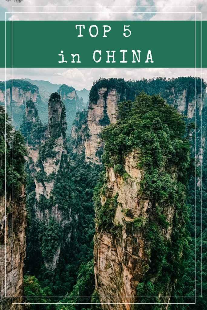 TOP 5 in China - Die besten Empfehlungen für deinen Urlaub!