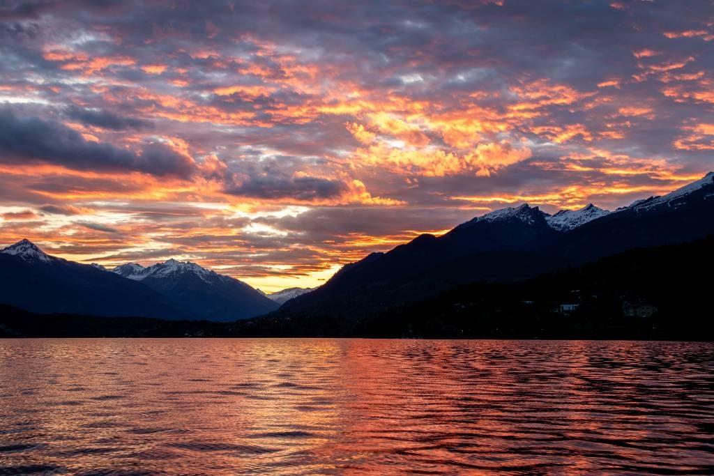 Der schönste Sonnenuntergang in Kärnten