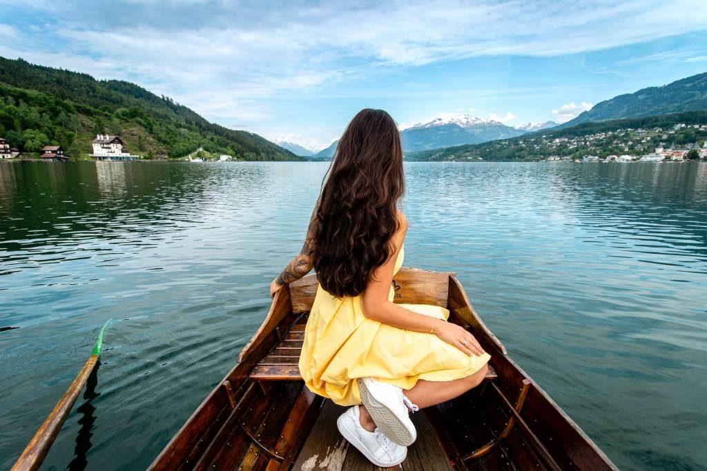 Kanu fahren am schönsten See in Kärnten