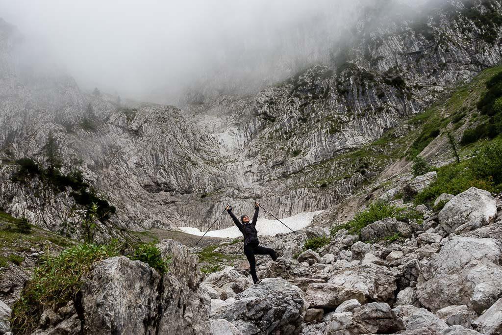 Der Wilde Kaiser in St. Johann in Tirol