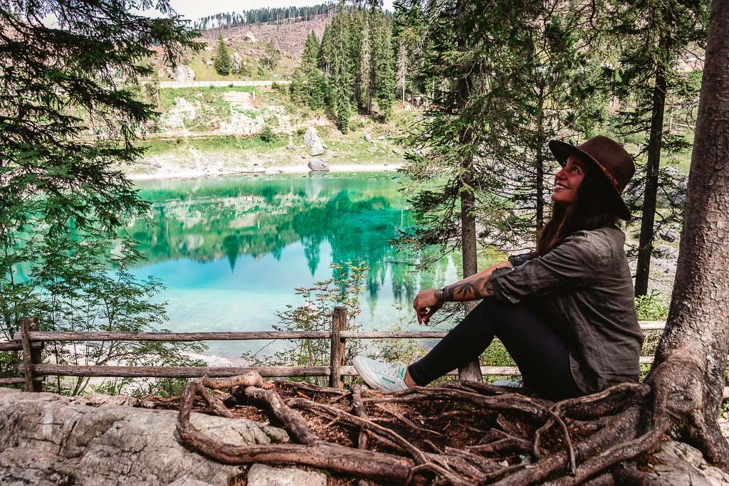 Lago di Carezza - Der schönste See im Eggental, Südtirol