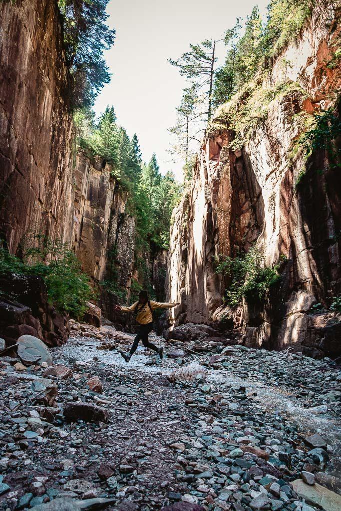 Der Canyon von Südtirol - Bletterbachschlucht im Eggental