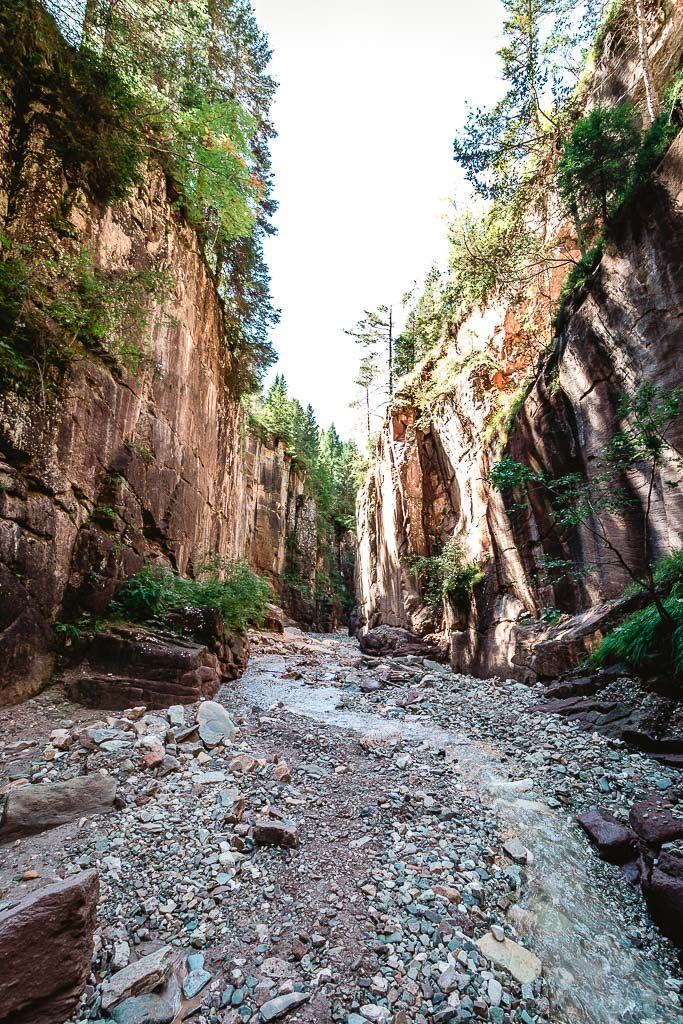 Der Canyon von Sütirol - Bletterbachschlucht im Eggental