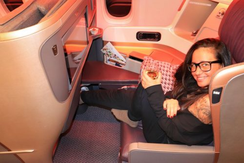 singapore airlines business class - Salty toes Reiseblog
