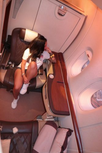 singapore airlines first class - Salty toes Reiseblog