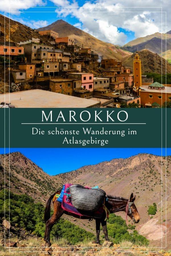 Marokko & das wunderschöne Atlasgebirge - Wandern für Genießer