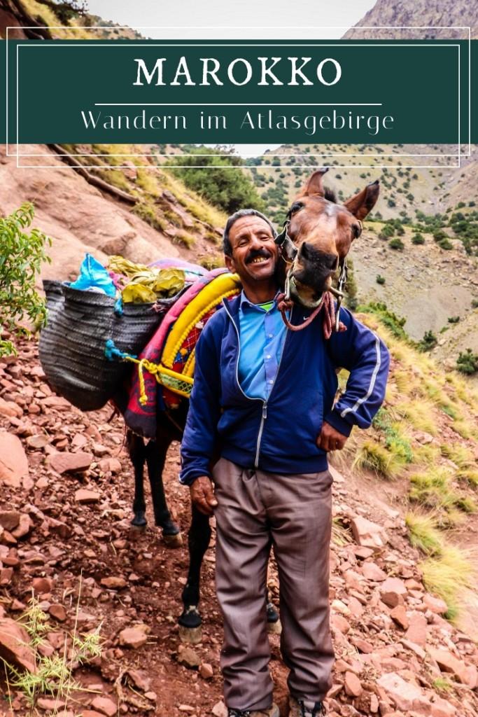 Marokko - Wandern im wunderschönen Atlasgebirge