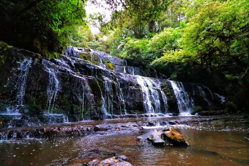 Neuseeland Wasserfälle - Salty toes Reiseblog