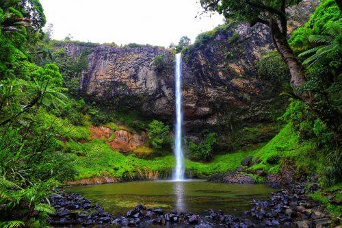 Neuseeland - Bridal Veil Falls - Nature Park