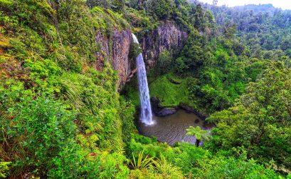 Neuseeland Wasserfall
