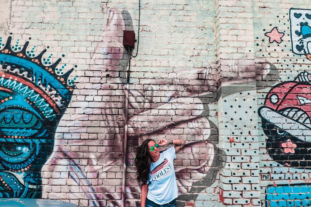 Neuseeland - (690) Street Art - Salty toes Reiseblo