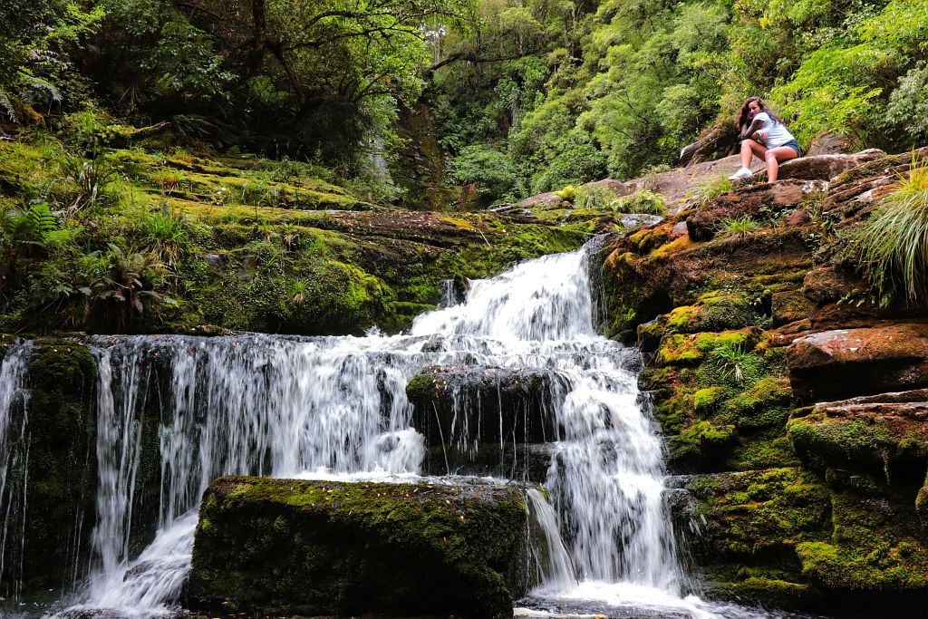 Neuseeland - (979)-01 Wasserfälle - Salty toes Reiseblog