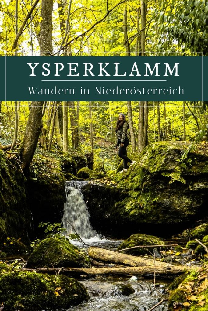Ysperklamm - Ein besonderes Ausflugsziel in Niederösterreich! #Natur #Wandern
